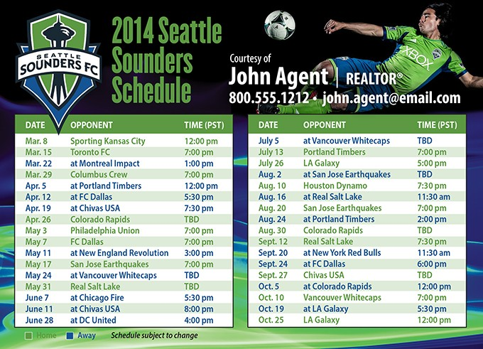 Here is Sounders U-23's 2015 PDL schedule | Sounders Insider - The ...